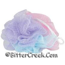 Pink/Blue/Purple Body Scrubber (12pk)