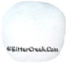 Ice White Jojoba Beads