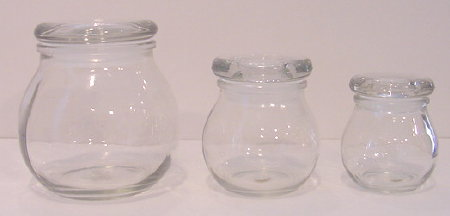 3.5 oz. Bulb Jar (12) Per Case