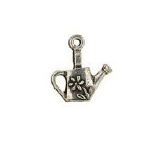 Watering Can Pewter Candle Charm