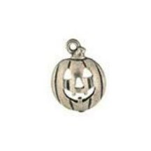 Pumpkin Pewter Candle Charm