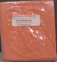 Coral Pigment Block
