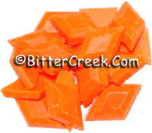 Apricot Fluorescent Diamond Pigment Chips