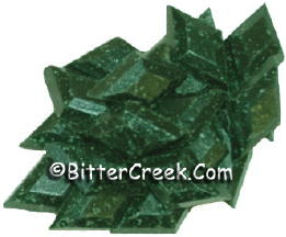 Bright Green Diamond Dye Chips