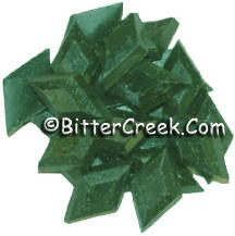 Christmas Green Diamond Dye Chips