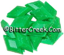 Lime Fluorescent Diamond Pigment Chips