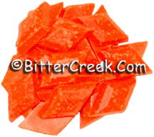 Peach Fluorescent Diamond Pigment Chips