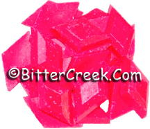 Shocking Pink Fluorescent Diamond Pigment Chips