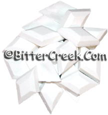 White Diamond Dye Chips
