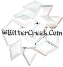 White Diamond Dye Chips