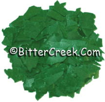 Light Ocean Green Dye Flakes