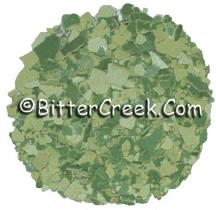 Pale Green Dye Flakes