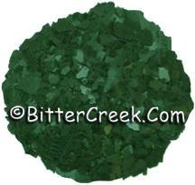 Pine Green Dye Flakes