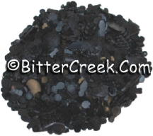 Pitch Black Dye Flakes