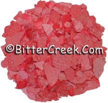 Powder Pink Dye Flakes