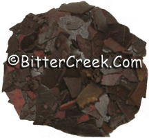 Rusty Brown Dye Flakes