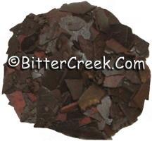 Rusty Brown Dye Flakes