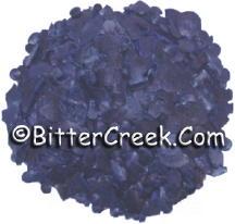 Sapphire Blue Dye Flakes