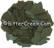 Suede Brown Dye Flakes