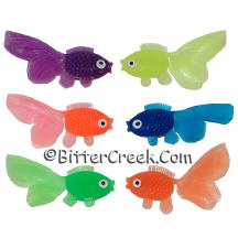 Fish Embeds Assorted Colors