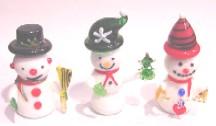 "Snowman 3"" Set of 3"