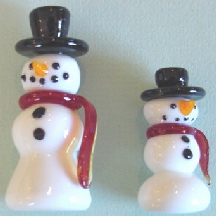 "Snowmen: One Each 2"" & 3"""