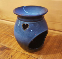 Blue Pottery Fragrance Warmer