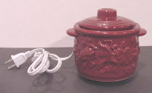 Burgundy Electric Potpourri Pot