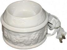 Wax Melt (tart) Warmer Ceramic White