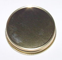 Gold Plain Jelly Lid