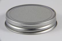Silver Plain Jelly Lid