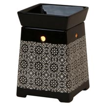 Wax Melt (tart) Warmer Black Lamp