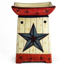 Wax Melt (tart) Warmer Tall Star