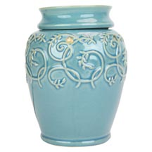 Wax Melt (tart) Warmer Tall Blue