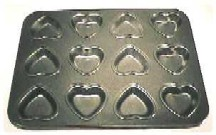 Heart Tart/Melt Tray (12 Cavity)