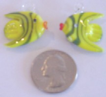 Yellow Fish with Red Lips 12 Pieces