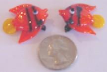 Orange Fish 12 Pieces