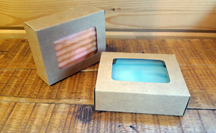 Kraft Window Soap Box