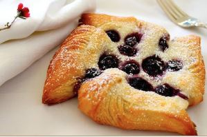 Lemon Blueberry Danish
