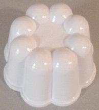 "3 x 2"" Plastic Bundt Mold"