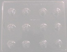 Strawberry Small Embed/Tart Mold (12 Cavity)