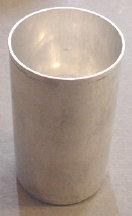 """2"""" x 3.5"""" Round Seamless Aluminum Pillar Mold"""