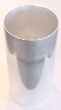 """3"""" x 6.5"""" Round Seamless Aluminum Pillar Mold"""