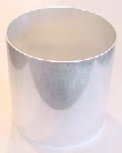 """3.75"""" x 4.5"""" Oval Seamless Aluminum Pillar Mold"""