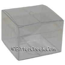 Square Clear Tealight Box