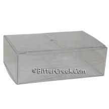 Long Clear Tealight Box