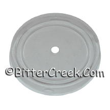 "3"" Clear Plastic Dust Lid/Cover"