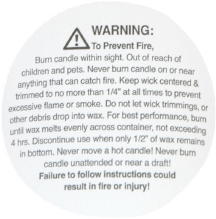 "2"" Container Warning/Caution Labels"