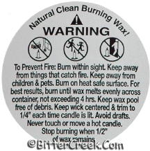 "2"" Soy Warning/Caution Labels"