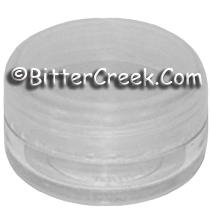 Lip Balm Pot w/Clear Cap